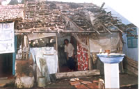 Photo of hut in Slum Can Tho, Vietnam